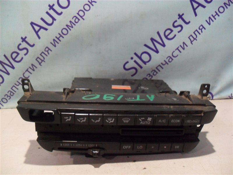 Блок управления климат-контролем Toyota Carina AT190 4A-FE 1994
