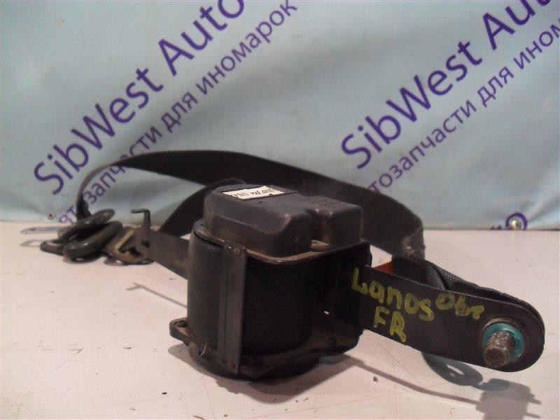 Ремень безопасности Chevrolet Lanos T100 A15SMS 2007 передний правый