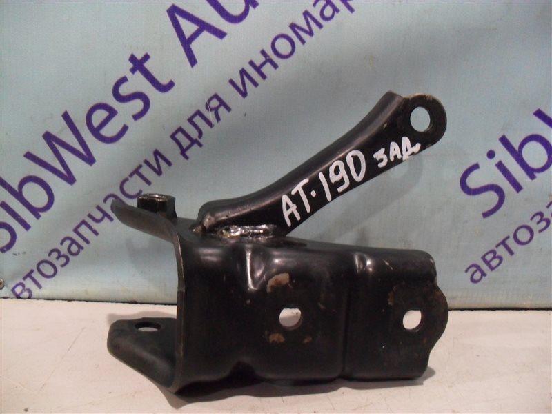 Кронштейн опоры двигателя Toyota Carina AT190 4A-FE 1994 задний