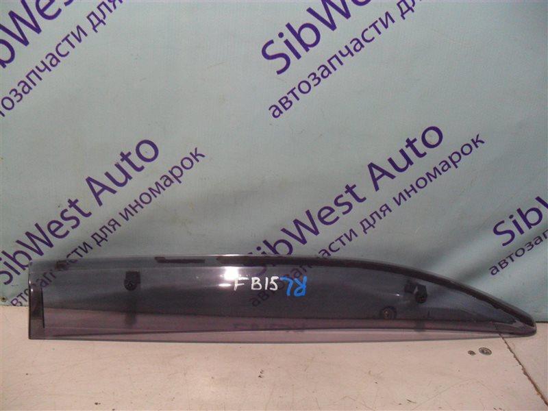 Ветровик Nissan Sunny FB15 QG15DE 2001 задний левый