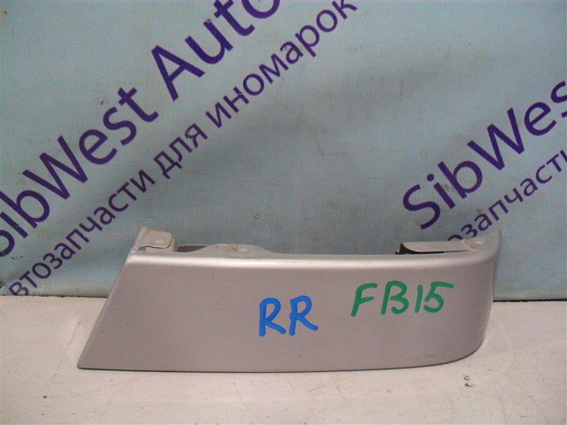 Планка под стоп Nissan Sunny FB15 QG15DE 2001 задняя правая