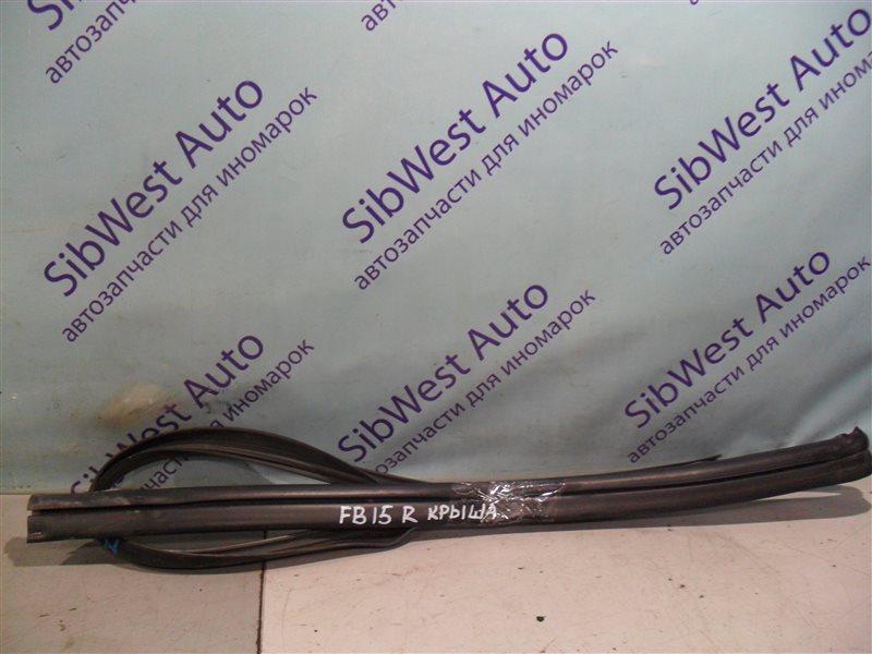 Уплотнение дверное Nissan Sunny FB15 QG15DE 2001 правое