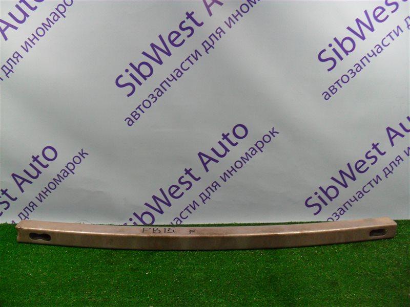 Жесткость бампера Nissan Sunny FB15 QG15DE 2001 передний