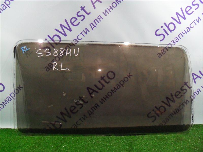 Стекло собачника Nissan Vanette SS88MN F8 1997 заднее левое