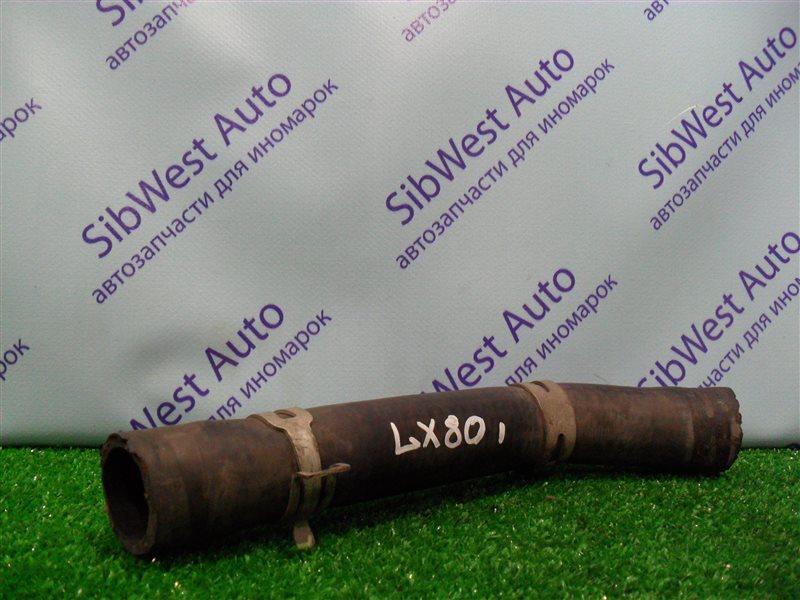 Патрубок радиатора Toyota Chaser LX80 2LT 1991 верхний