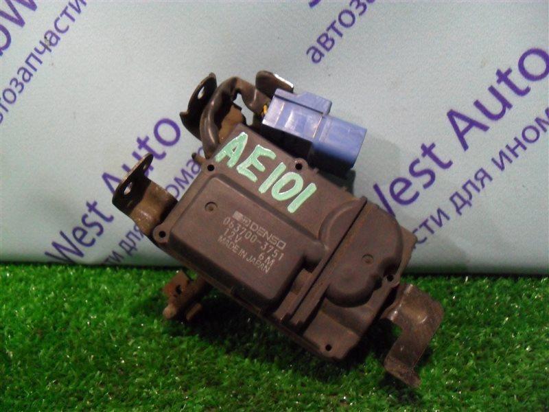 Сервопривод заслонок печки Toyota Ceres AE101 4A-FE 1992