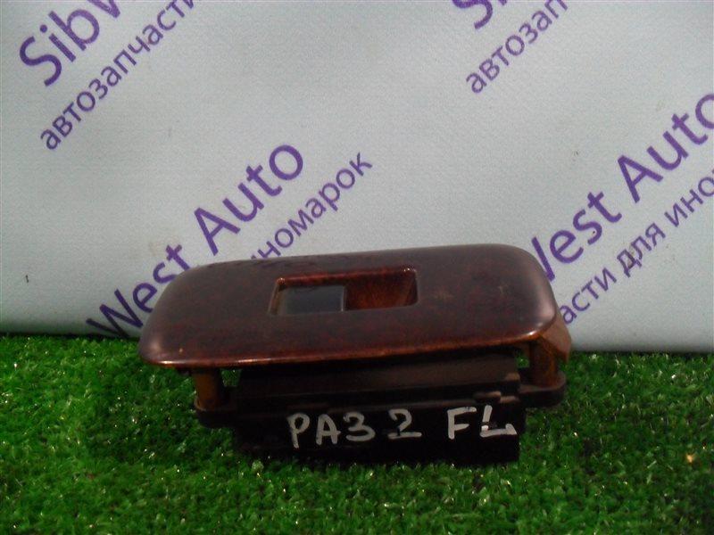 Кнопка стеклоподъемника Nissan Cefiro PA32 VQ25DE 1995 передняя левая