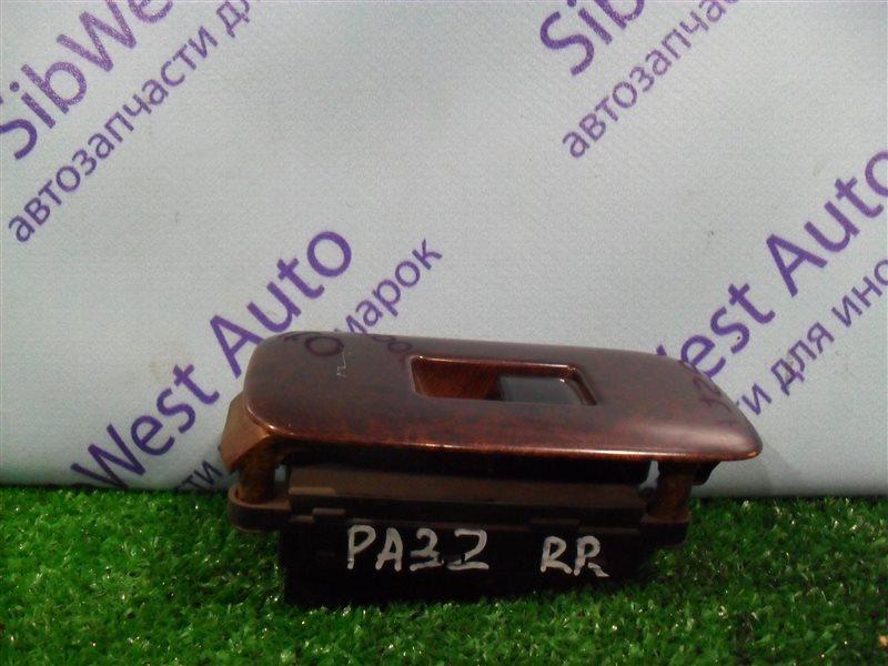 Кнопка стеклоподъемника Nissan Cefiro PA32 VQ25DE 1995 задняя правая