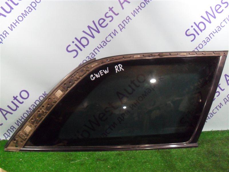 Стекло собачника Mazda Capella GWEW FS 1999 заднее правое