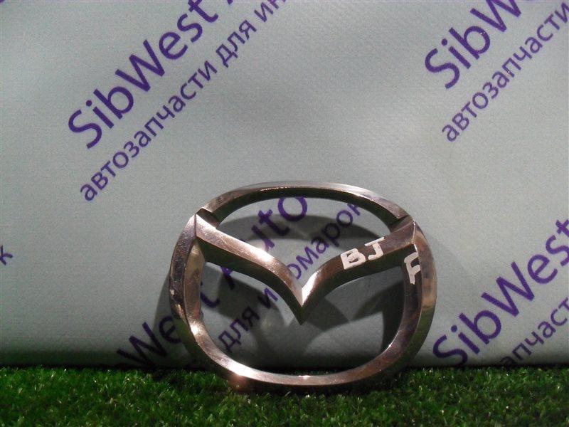 Эмблема Mazda 323 BJ ZM 2001 передняя