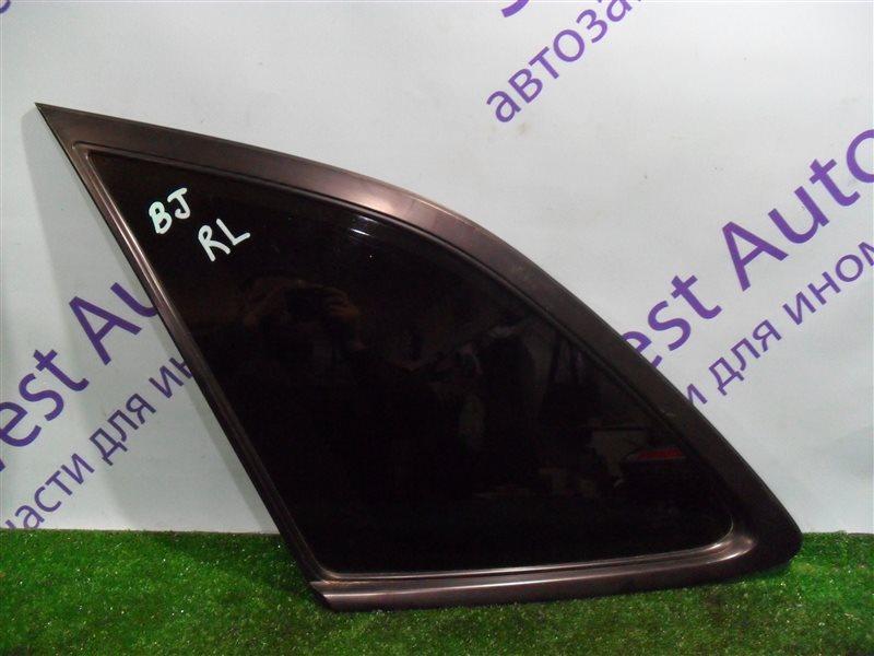 Стекло собачника Mazda 323 BJ ZM 2001 заднее левое