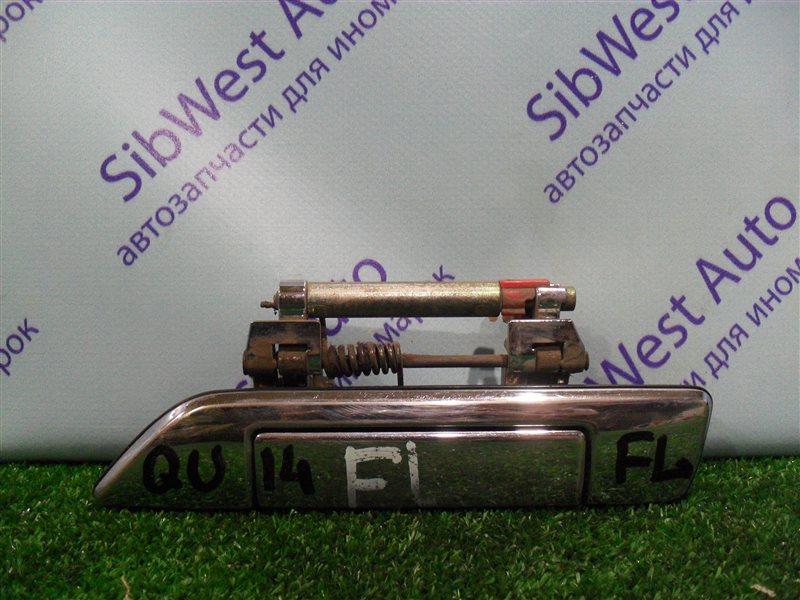 Ручка двери внешняя Nissan Bluebird QU14 QG18DE 1999 передняя левая
