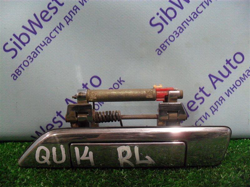 Ручка двери внешняя Nissan Bluebird QU14 QG18DE 1999 задняя левая