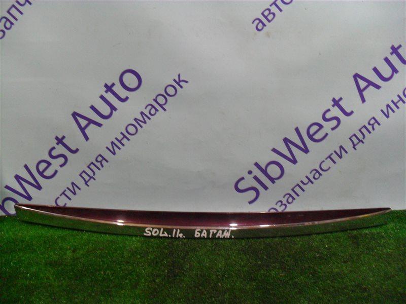 Накладка на багажник Hyundai Solaris RB G4FA 2011