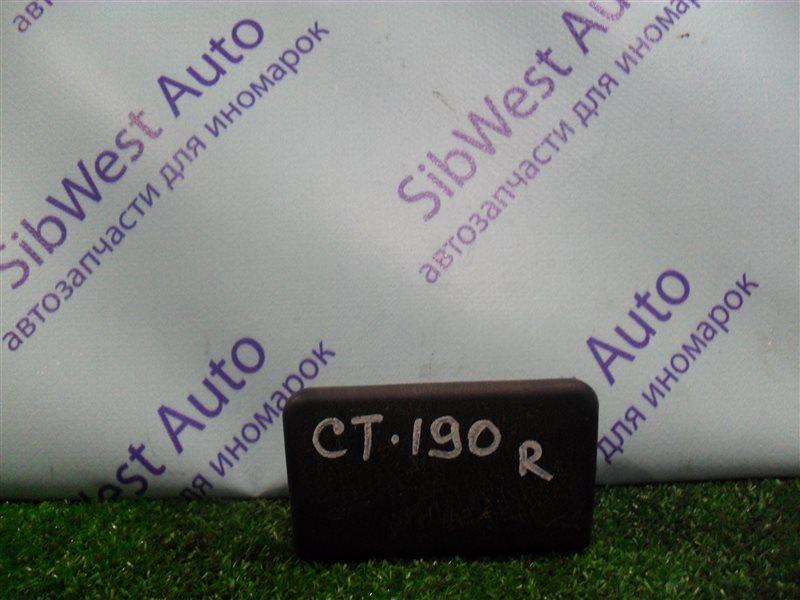 Пепельница Toyota Carina CT190 2C 1995 задняя