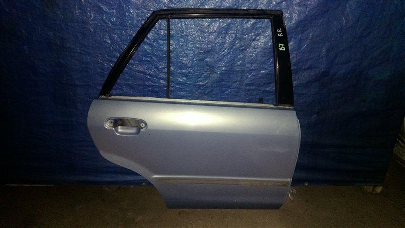 Дверь Mazda 323 BJ ZM 2001 задняя правая