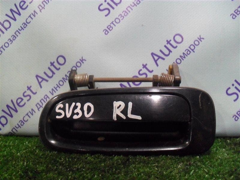 Ручка двери внешняя Toyota Vista SV30 4S-FE 1992 задняя левая