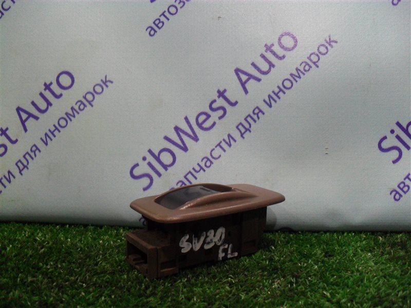 Кнопка стеклоподъемника Toyota Vista SV30 4S-FE 1992 передняя левая