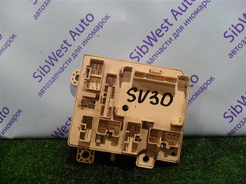 Блок предохранителей Toyota Vista SV30 4S-FE 1992