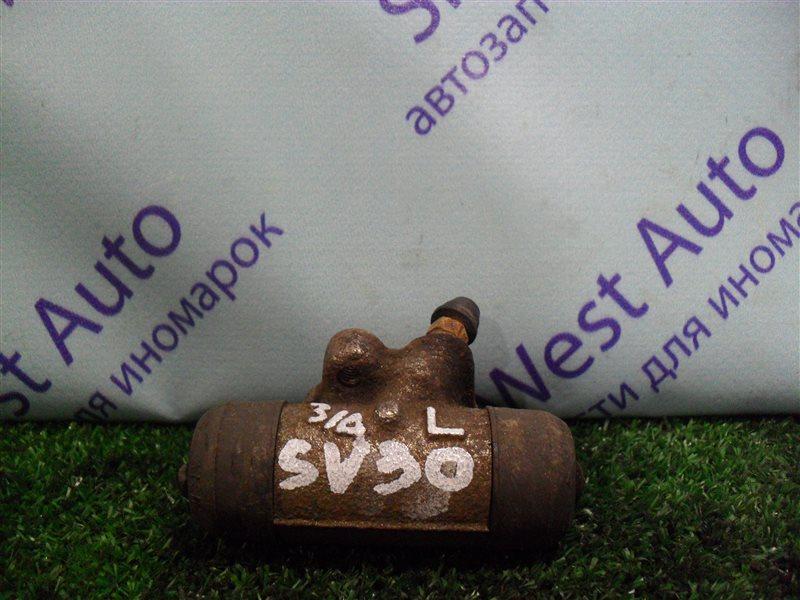 Тормозной цилиндр Toyota Vista SV30 4S-FE 1992 задний левый