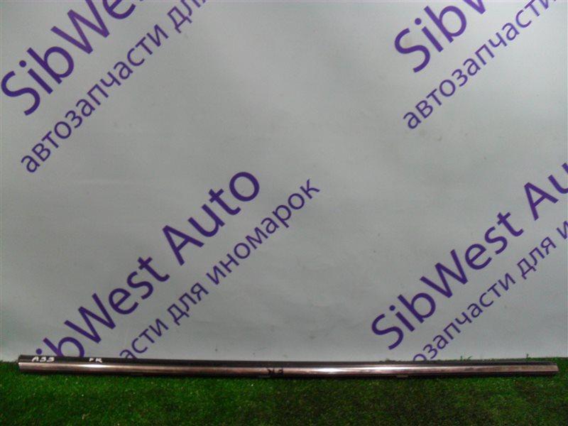 Молдинг на дверь Nissan Cefiro PA33 VQ25DD 2000 передний правый верхний