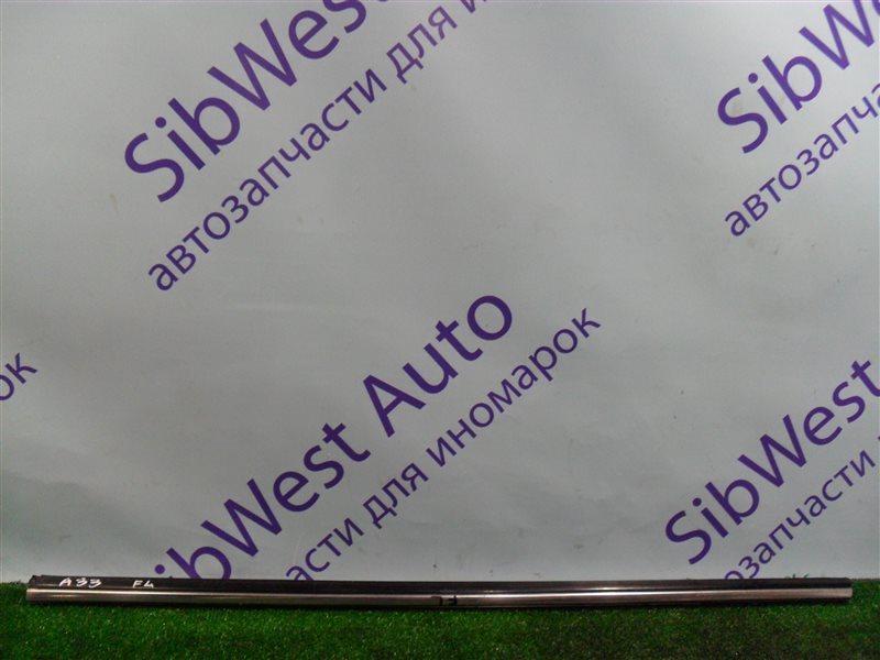 Молдинг на дверь Nissan Cefiro PA33 VQ25DD 2000 передний левый верхний
