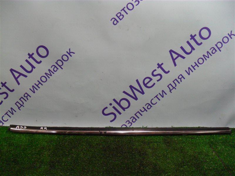 Молдинг на дверь Nissan Cefiro PA33 VQ25DD 2000 задний правый верхний