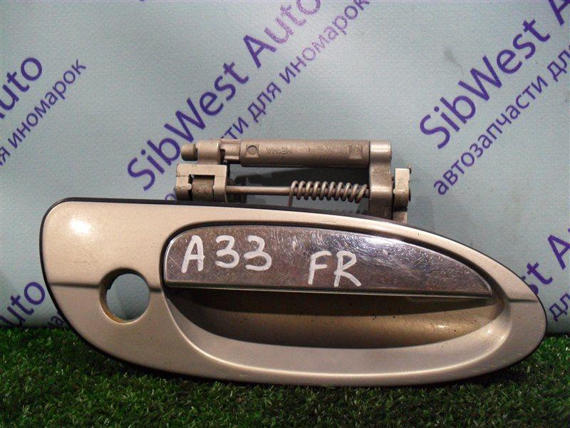 Ручка двери внешняя Nissan Cefiro PA33 VQ25DD 2000 передняя правая