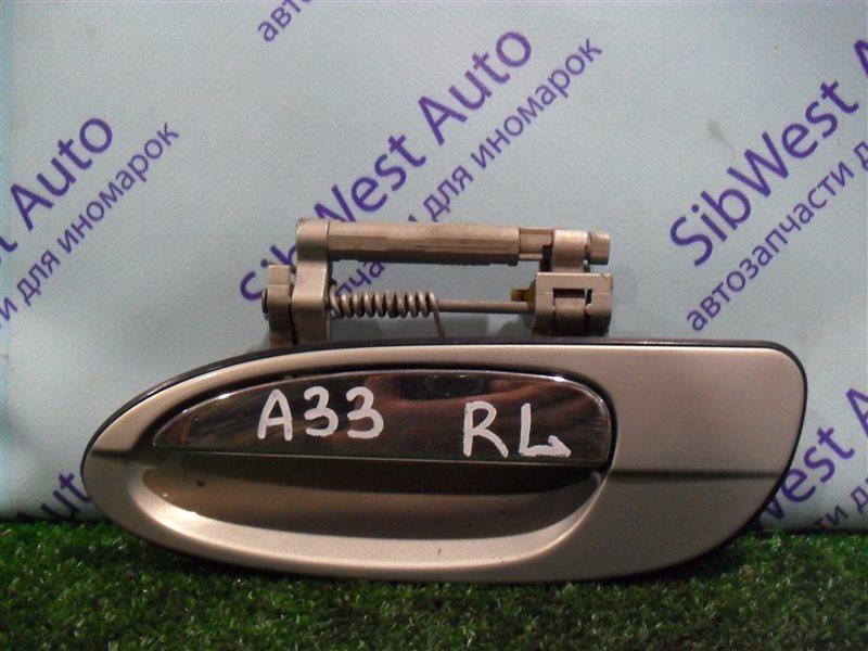 Ручка двери внешняя Nissan Cefiro PA33 VQ25DD 2000 задняя левая