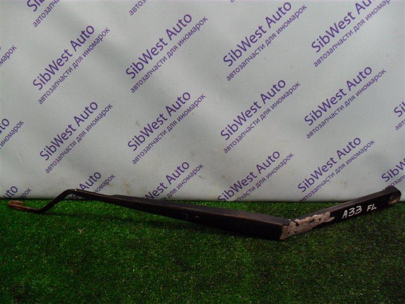 Поводок стеклоочистителя Nissan Cefiro PA33 VQ25DD 2000 передний левый