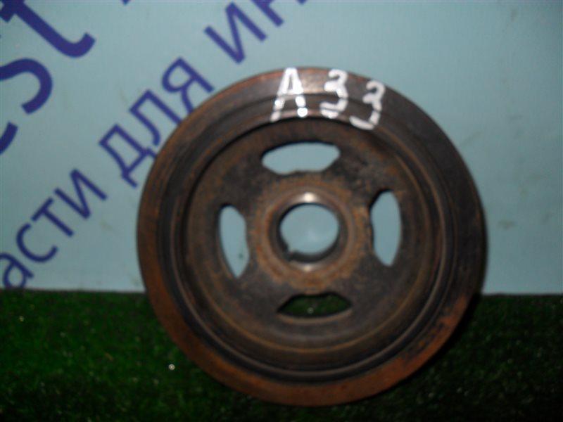 Шкив коленвала Nissan Cefiro PA33 VQ25DD 2000