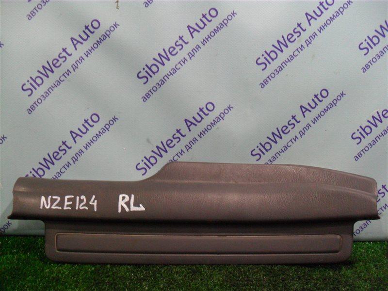 Порожек пластиковый Toyota Corolla NZE124 1NZFE 2007 задний левый