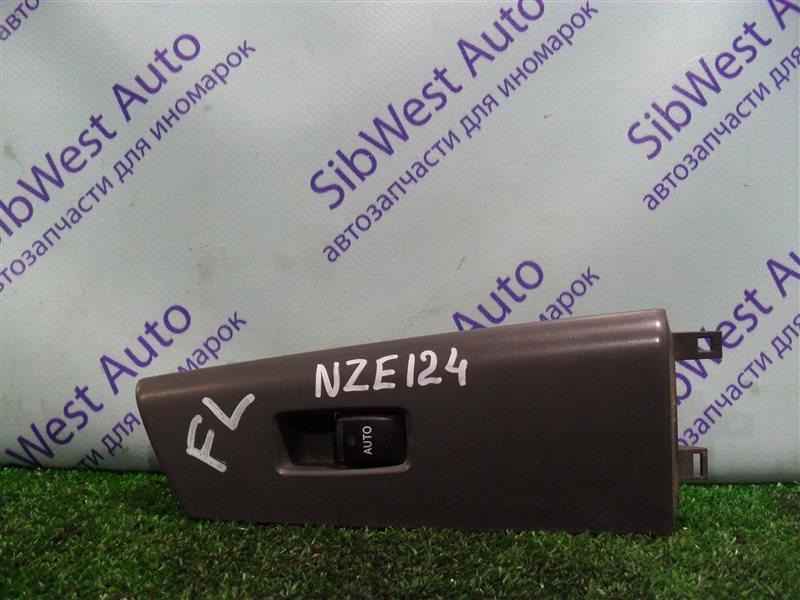 Кнопка стеклоподъемника Toyota Corolla NZE124 1NZFE 2007 передняя левая