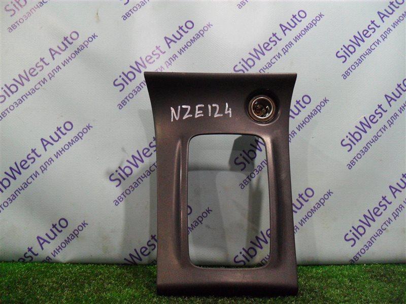 Консоль кпп Toyota Corolla NZE124 1NZFE 2007