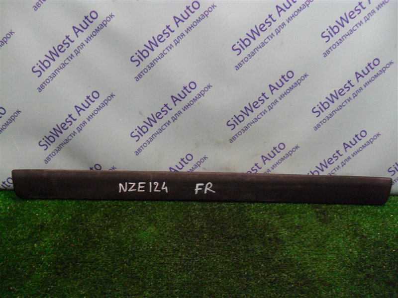 Порожек пластиковый Toyota Corolla NZE124 1NZFE 2007 передний правый