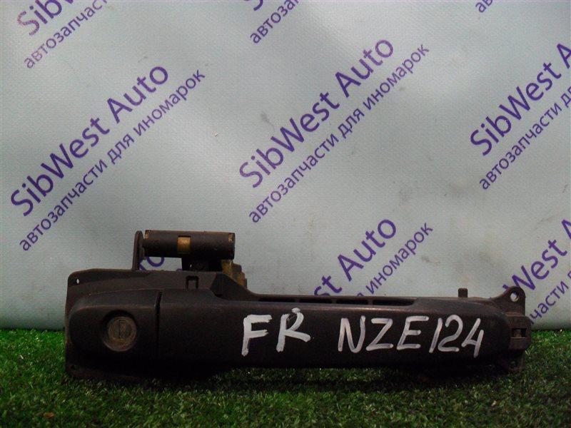 Ручка двери внешняя Toyota Corolla NZE124 1NZFE 2007 передняя правая