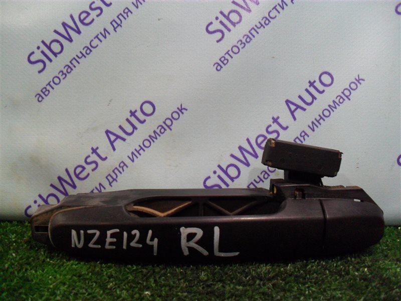 Ручка двери внешняя Toyota Corolla NZE124 1NZFE 2007 задняя левая