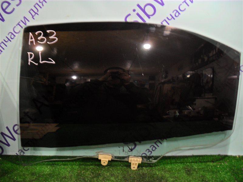 Стекло двери Nissan Cefiro PA33 VQ25DD 2000 заднее левое