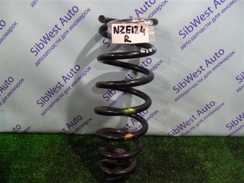 Пружина Toyota Corolla NZE124 1NZFE 2007 задняя