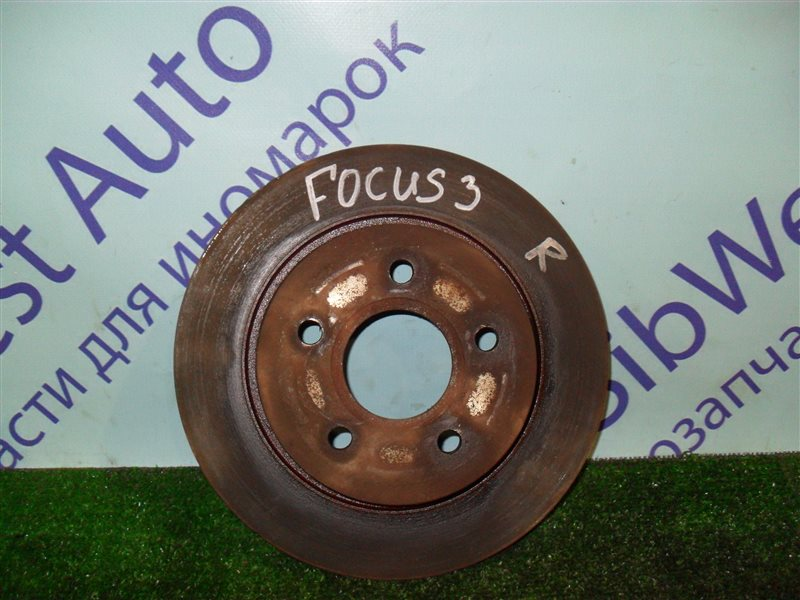 Тормозной диск Ford Focus 3 CB8 IQDB 2013 задний