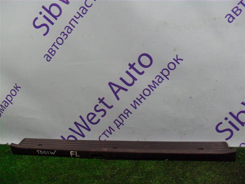 Порожек пластиковый Suzuki Escudo TD01W G16A 1993 передний левый
