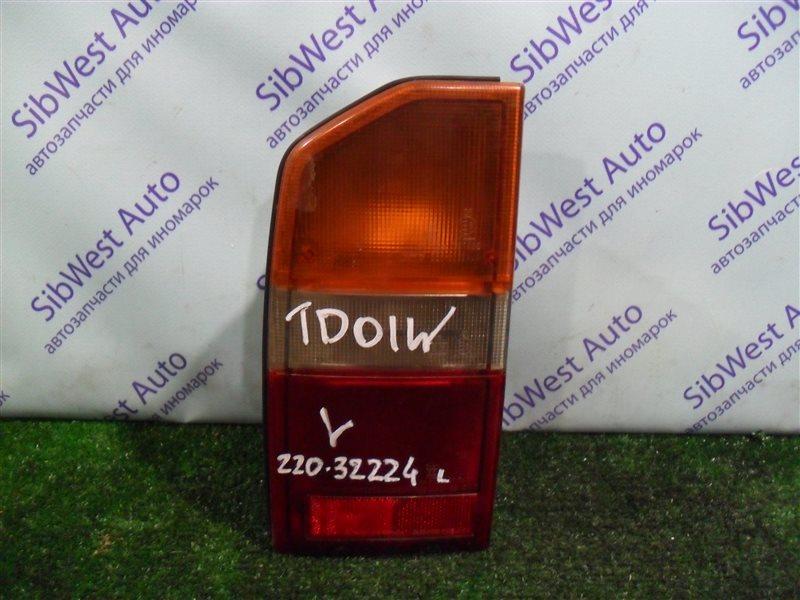 Стоп-сигнал Suzuki Escudo TD01W G16A 1993 задний левый