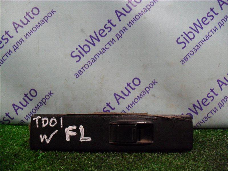Кнопка стеклоподъемника Suzuki Escudo TD01W G16A 1993 передняя левая