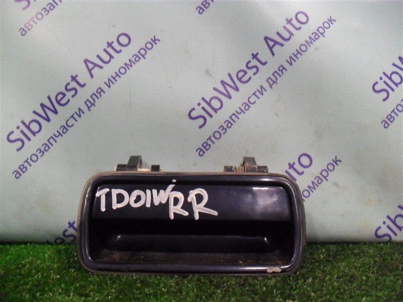 Ручка двери внешняя Suzuki Escudo TD01W G16A 1993 задняя правая