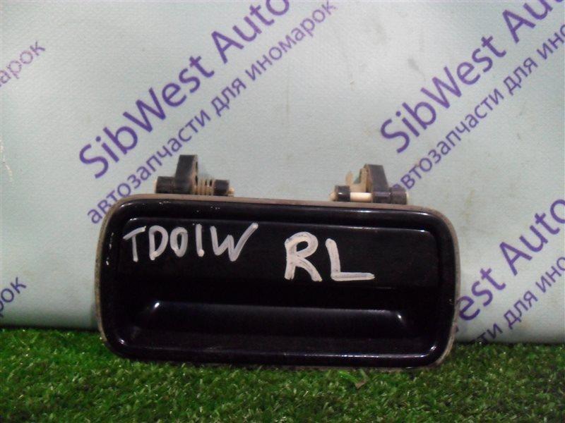 Ручка двери внешняя Suzuki Escudo TD01W G16A 1993 задняя левая