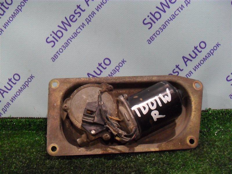Мотор дворников Suzuki Escudo TD01W G16A 1993 передний