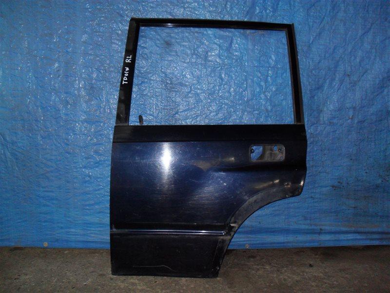 Дверь Suzuki Escudo TD01W G16A 1993 задняя левая