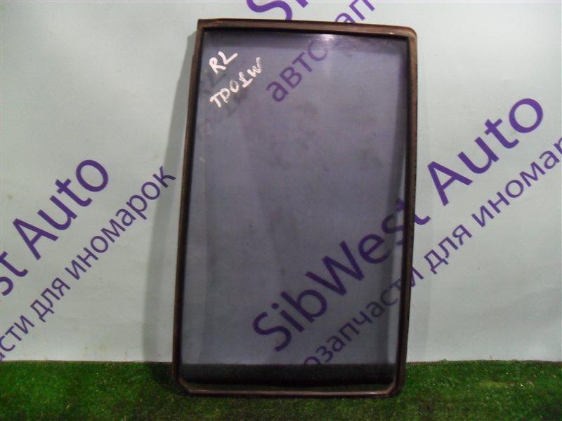 Форточка двери Suzuki Escudo TD01W G16A 1993 задняя левая