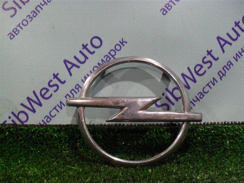 Эмблема Opel Zafira F75 Z22SE 2001