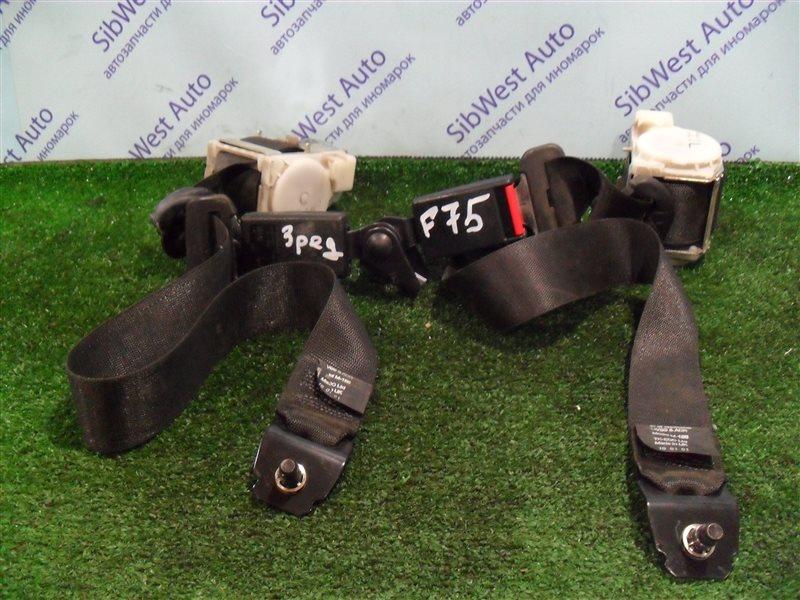 Ремень безопасности Opel Zafira F75 Z22SE 2001 задний